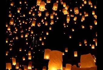 lanternes volantes lire - Lanterne Volante Mariage