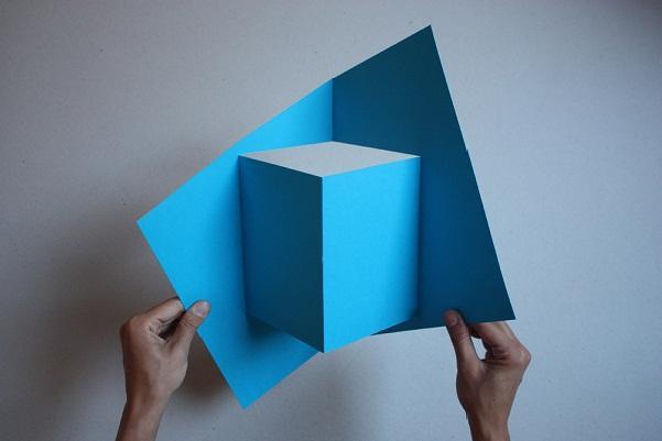 Lampes en papier pop up d couvrir - Applique murale papier ...