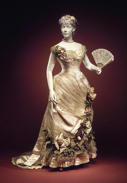 Evening dress House of Worth 1890