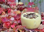 """Tiramisu façon """"Belle- Hélène"""" (poire chocolat)"""