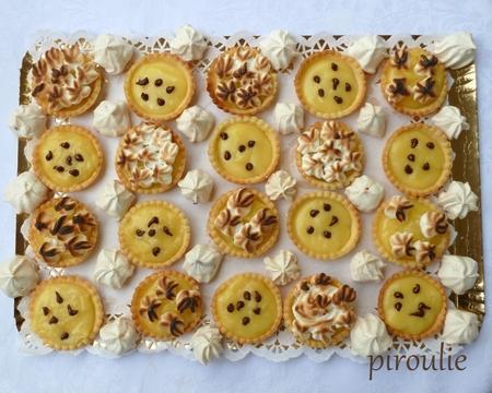 Mini tartelettes au citron paperblog - Recette pas cher pour famille nombreuse ...