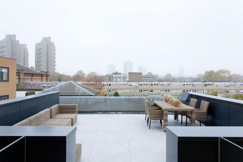Architecture design un ch teau d eau r habilit en for Architecture moderne londres
