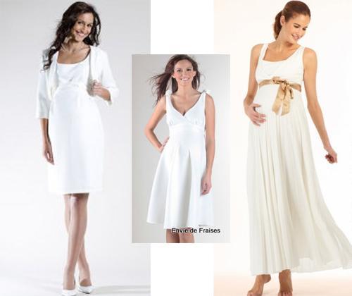 Robe de mariée de grossesse Envies de Fraises