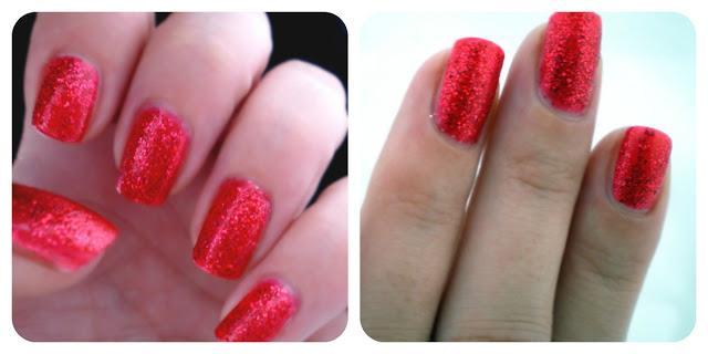Mes ongles à lheure de Noël avec la collection Dashing Holidays de KIKO