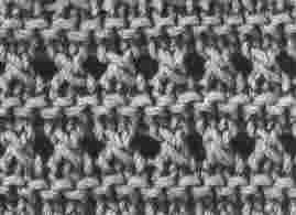 tricoter 7 mailles dans une maille