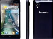 Lenovo P770 smartphone avec batterie 3500mAh