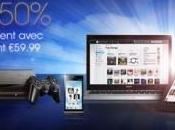 Sony Music Unlimited Premium moitié prix