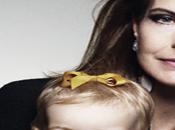 Carole Bouquet pose avec petite-fille L'Officiel