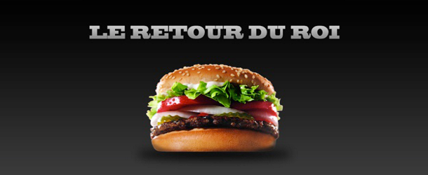 C'est officiel : Burger King revient en France !