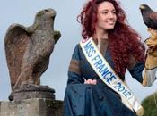 Miss France 2012 dans peau Merida pour sortie Rebelle Blu-Ray.