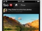 Test l'application 500px iPhone