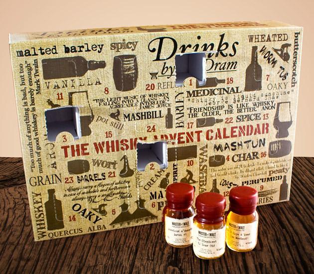 un calendrier de l 39 avent pour les grands le whisky calendar shopping voir. Black Bedroom Furniture Sets. Home Design Ideas
