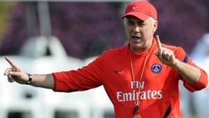 PSG-Ancelotti : «Je ne pense pas au mercato»