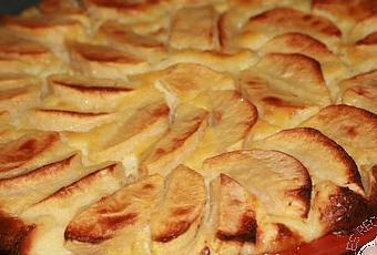 Gateaux aux pommes sans pate
