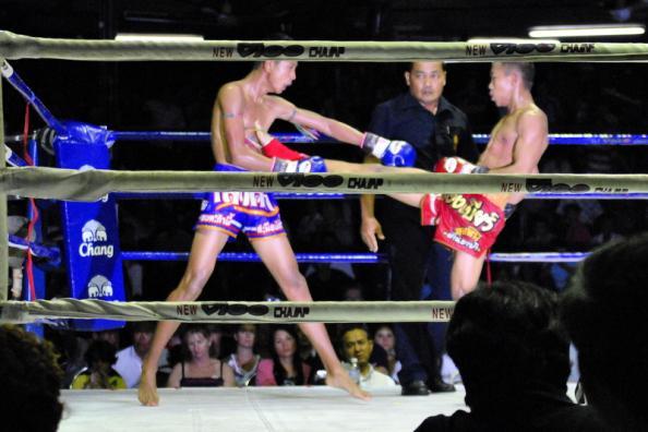 Boxe Thaï at Lumpini Stadium - Bangkok