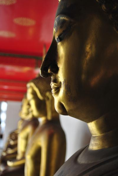 Buddha profile - Bangkok
