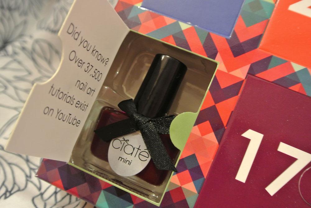 Mini mani month by ciat 2 paperblog for Que veut dire la couleur rouge