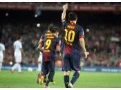 Barcelone Benfica Lisbonne Messi centre toutes attentions