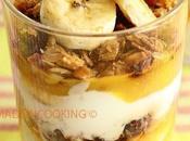 Dessert muesli, yaourt coco banane