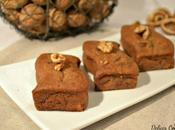 Brownies vegan spéculoos, noix chocolat blanc