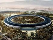 lancement travaux nouveau campus Apple Texas