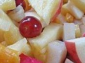 Salade fruits d'hiver