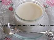 Crème façon danette version chocolat blanc