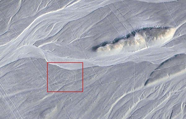 Lignes de Nazca: un géoglyphe en forme de labyrinthe