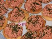 Toasts thon tomates séchées