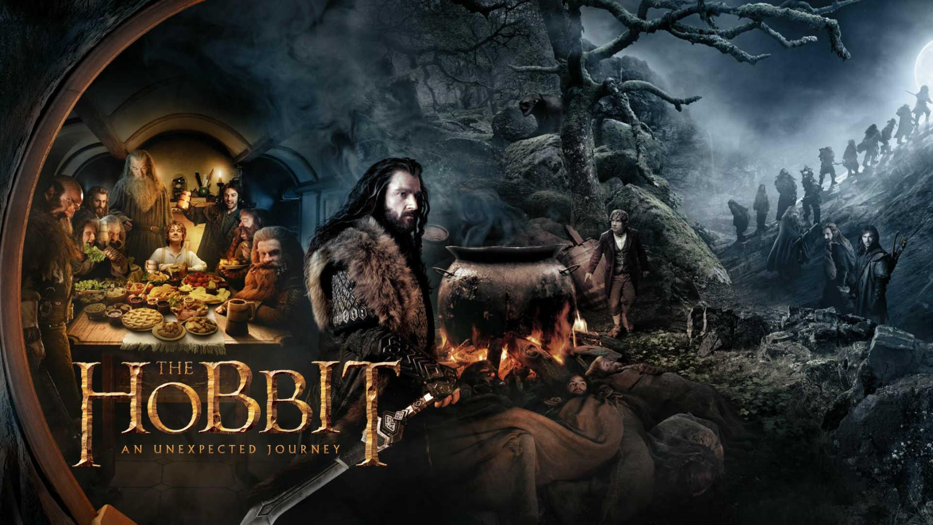 The Hobbit Bilbo and Gandalf
