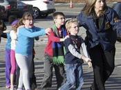 Fusillade Newtown vendredi décembre 2012 photo l'horreur. Trop triste voir drame!