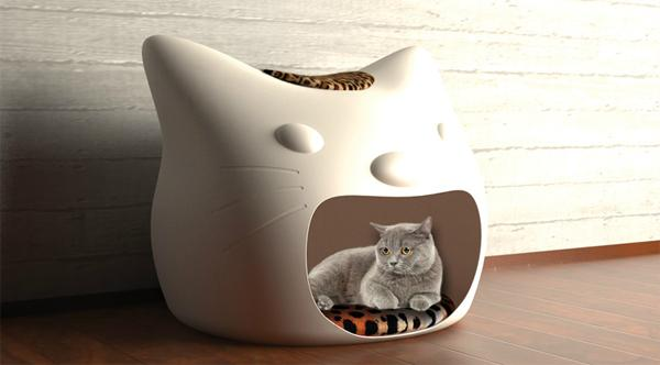 La maison pour chat kitty meow paperblog for Maison exterieur pour chat
