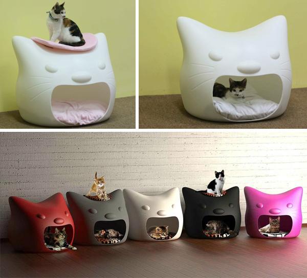 La maison pour chat kitty meow paperblog for Maison chat design