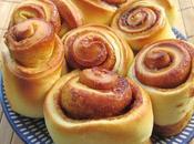 Cinnamon rolls (petits pains roulés cannelle)
