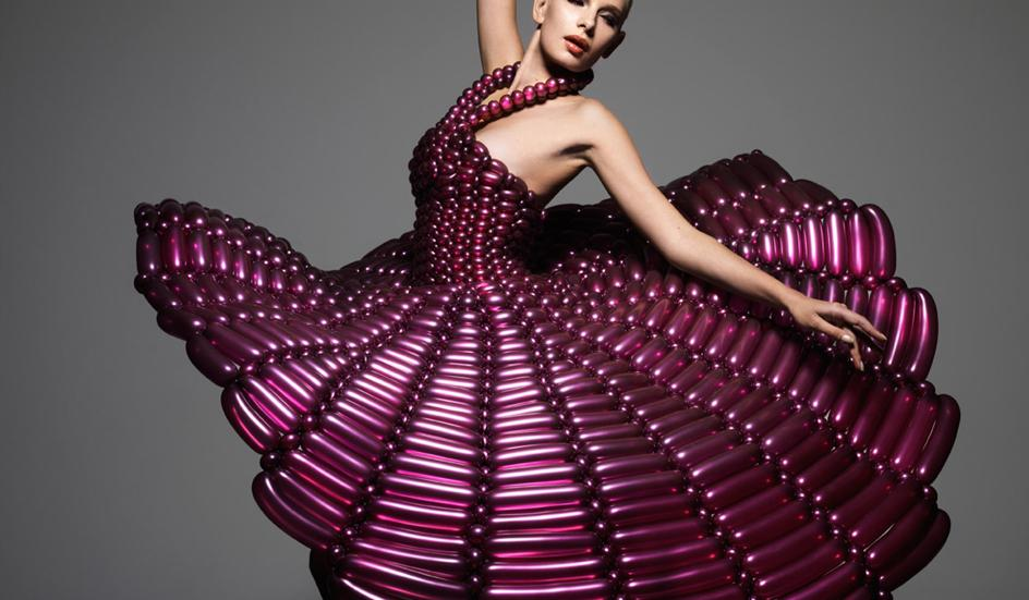 Гламурные платья своими руками