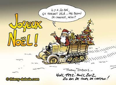 Joyeux no l d 39 auteurs de bd paperblog for Alexandre jardin joyeux noel
