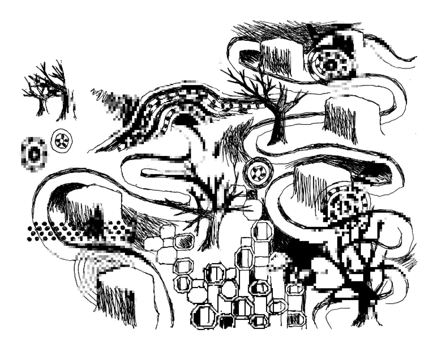 Noir et blanc dessins paperblog - Dessin noir et blanc ...