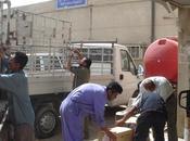 Violents affrontements Irak Première Urgence intervient immédiatement auprès hôpitaux délivrant kits médicaux.