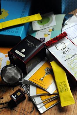 Et si les ThéBox étaient la vraie bonne idée de l'année, l'Envouthé et Sunset Tea pour commencer le réveillon dans la joie !