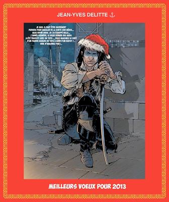 Cartes de Voeux 2013 de dessinateurs et auteurs de #BD