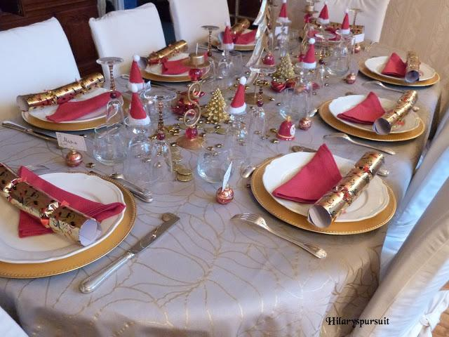 Sp cial f tes table de no l d 39 or ou table de no l d 39 argent xmas tables in gold or silver - Set de table maison du monde ...