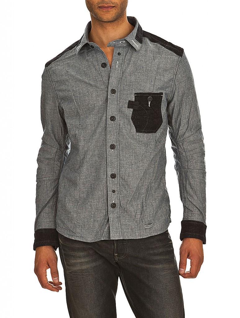 Chemises Pour Hommes Homme Fêtes Chemise G-star