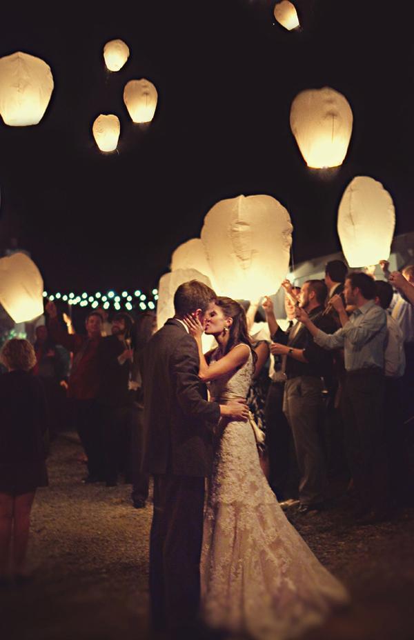lanternes volantes pour mariage - Lanterne Volante Mariage