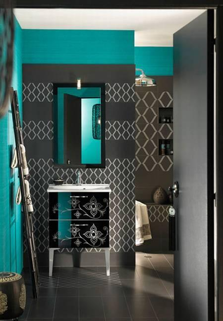 Ophrey.com : Deco Salon Bleu Turquoise Et Gris ~ Prélèvement d ...