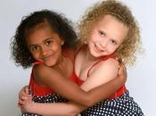 jumelles races différentes