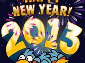 Angry Birds iPhone, nous souhaite bonne année 2013...