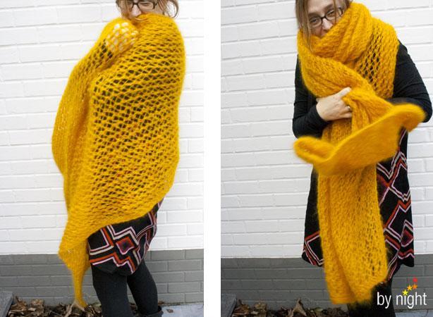 remise spéciale luxe grandes variétés Une écharpe grande comme une couverture | À Découvrir