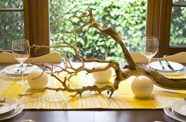 le centre de table arbre paperblog. Black Bedroom Furniture Sets. Home Design Ideas