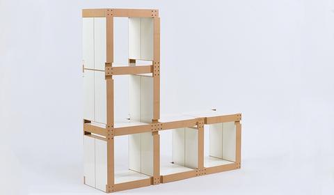 Fabulem cr ateur de meubles modulaires lire for Meuble cube modulable