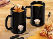 Insolite mugs pour fondue fromage